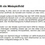 Aalener Nachrichten vom 21.04.2009
