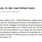 Stuttgarter Nachrichten / Stuttgarter Zeitung vom 16.07.2011