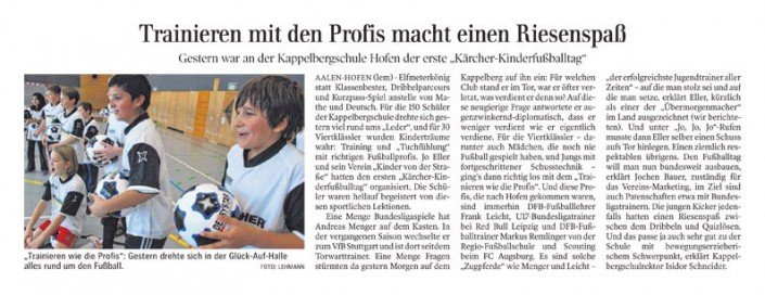 Fussballtage sponsored by Kaercher - Bild 15 - Datum: 07.04.2015 - Tags: AKTION FUSSBALLTAG e.V.