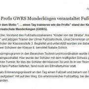 Ehinger Tagblatt vom 08.01.2014