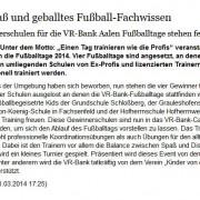 schwäbische.de vom 31.03.2014
