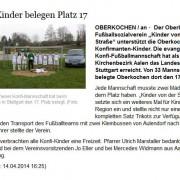 schwäbische.de vom 14.04.2014