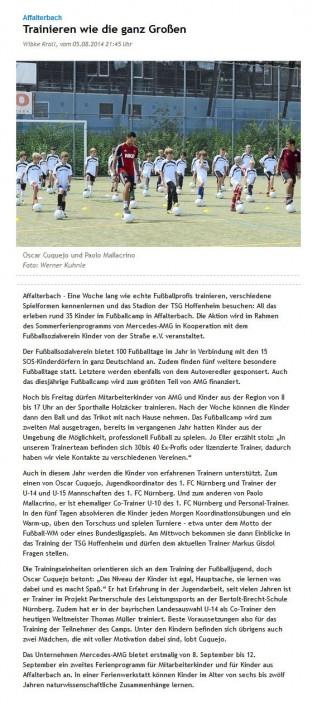 Presseberichte - Bild 19 - Datum: 27.03.2015 - Tags: AKTION FUSSBALLTAG e.V.