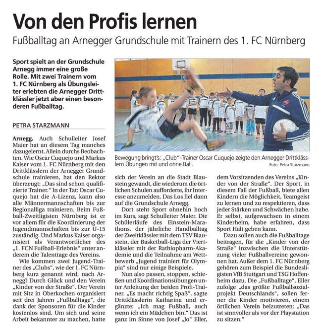 Jo Ellers Arbeit als sportlicher Leiter bei Kinder von der Strasse eV - Bild 40 - Datum: 04.11.2015 - Tags: AKTION FUSSBALLTAG e.V.