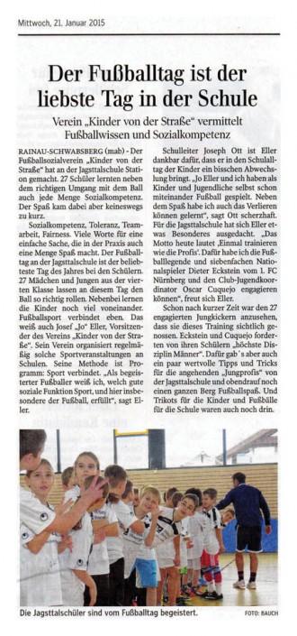 Jo Ellers Arbeit als sportlicher Leiter bei Kinder von der Strasse eV - Bild 39 - Datum: 04.11.2015 - Tags: AKTION FUSSBALLTAG e.V.