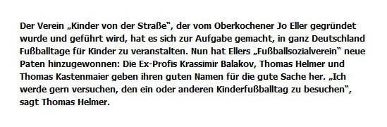 Schwaepo vom 04062013 - Bild 1 - Datum: 14.06.2013 - Tags: Pressebericht, AKTION FUSSBALLTAG e.V.