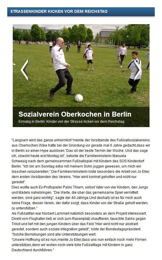 Radio 7 vom 06052014 - Bild 1 - Datum: 06.05.2014 - Tags: Fußballtag in Berlin vor dem Bundestag, Pressebericht, Radio 7, AKTION FUSSBALLTAG e.V.