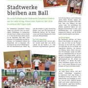 Kundenzeitschrift der Stadtwerke Schwäbisch Gmünd 1/2015