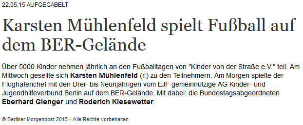 Fussballtage an besonderen Orten - Bild 8 - Datum: 31.03.2015 - Tags: AKTION FUSSBALLTAG e.V.