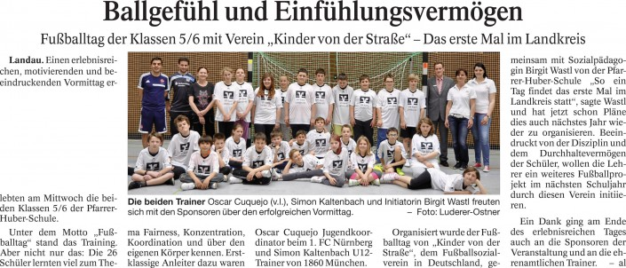 Jo Ellers Arbeit als sportlicher Leiter bei Kinder von der Strasse eV - Bild 24 - Datum: 04.11.2015 - Tags: AKTION FUSSBALLTAG e.V.
