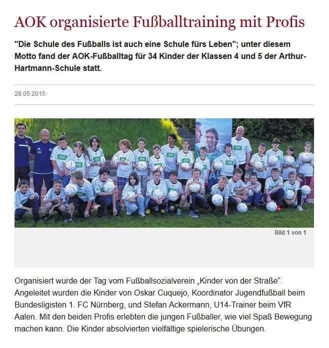 Jo Ellers Arbeit als sportlicher Leiter bei Kinder von der Strasse eV - Bild 15 - Datum: 04.11.2015 - Tags: AKTION FUSSBALLTAG e.V.