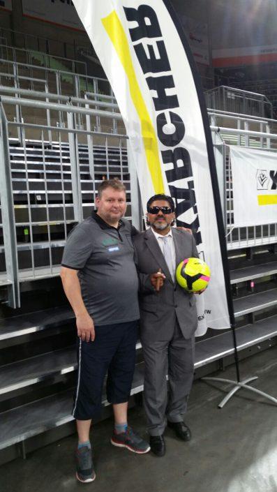 KaercherFussballtag am 29072016 in der RatiopharmArena Ulm  NeuUlm - Bild 6 - Datum: 26.07.2016 - Tags: Besonderes, Fußballtag, Kärcher, AKTION FUSSBALLTAG e.V.