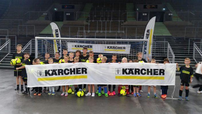KaercherFussballtag am 29072016 in der RatiopharmArena Ulm  NeuUlm - Bild 8 - Datum: 26.07.2016 - Tags: Besonderes, Fußballtag, Kärcher, AKTION FUSSBALLTAG e.V.