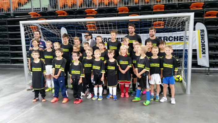 KaercherFussballtag am 29072016 in der RatiopharmArena Ulm  NeuUlm - Bild 19 - Datum: 26.07.2016 - Tags: Besonderes, Fußballtag, Kärcher, AKTION FUSSBALLTAG e.V.