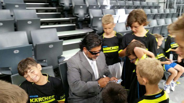 KaercherFussballtag am 29072016 in der RatiopharmArena Ulm  NeuUlm - Bild 25 - Datum: 26.07.2016 - Tags: Besonderes, Fußballtag, Kärcher, AKTION FUSSBALLTAG e.V.