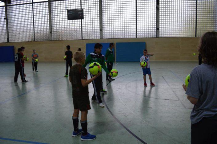 Fussballtag am 26102016 in Heidenheim - Bild 16 - Datum: 26.10.2016 - Tags: Fußballtag, AKTION FUSSBALLTAG e.V.