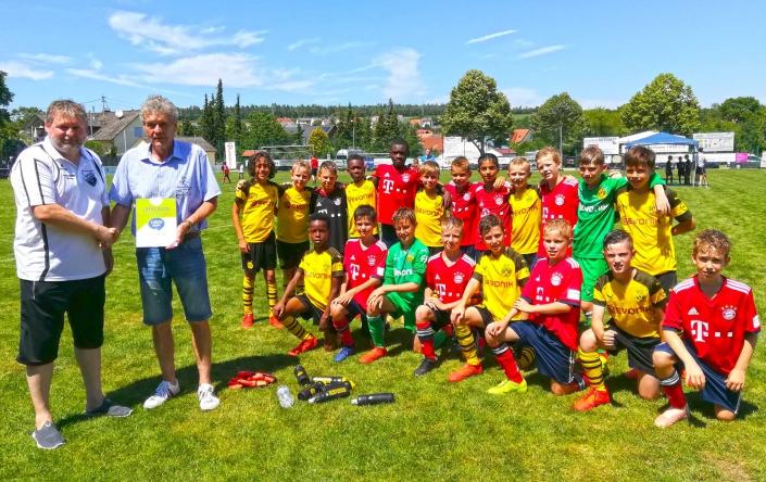 Humanus Bundesliga Jugendcup am 2706 und 28062020 in Ederheim bei Noerdlingen - Bild 14 - Datum: 31.07.2019 - Tags: Bundesliga Jugendcup, Fußballtag, Humanus, AKTION FUSSBALLTAG e.V.