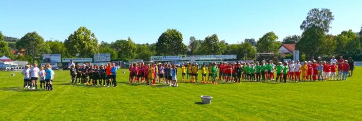Humanus Bundesliga Jugendcup am 2706 und 28062020 in Ederheim bei Noerdlingen - Bild 8 - Datum: 31.07.2019 - Tags: Bundesliga Jugendcup, Fußballtag, Humanus, AKTION FUSSBALLTAG e.V.