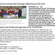 schwäbische.de vom 17.01.2011