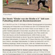 SOS-Kinderdorf Berlin vom 02.05.2014