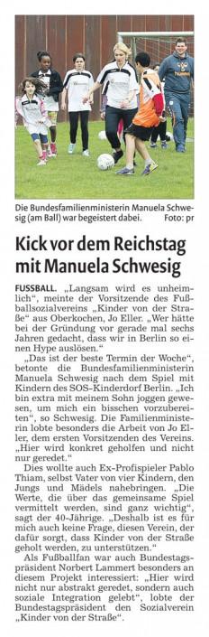 Fussballtage an besonderen Orten - Bild 10 - Datum: 31.03.2015 - Tags: AKTION FUSSBALLTAG e.V.