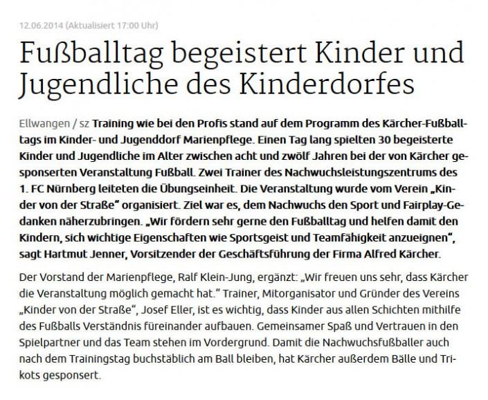 Fussballtage sponsored by Kaercher - Bild 12 - Datum: 07.04.2015 - Tags: AKTION FUSSBALLTAG e.V.