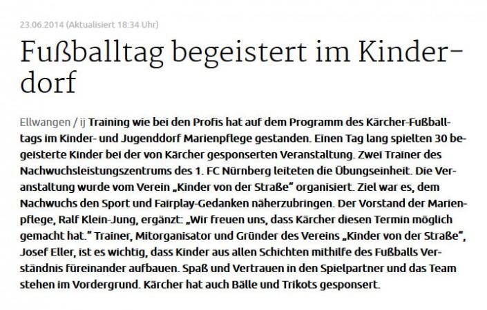 Fussballtage sponsored by Kaercher - Bild 11 - Datum: 07.04.2015 - Tags: AKTION FUSSBALLTAG e.V.