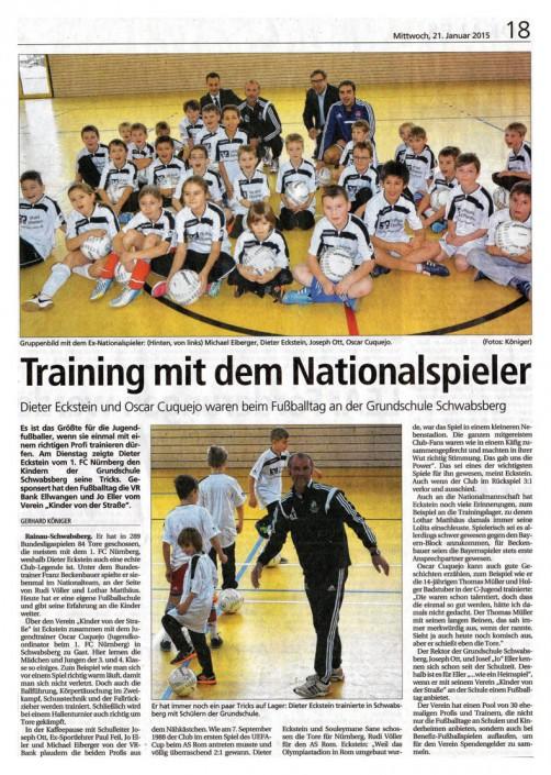 Jo Ellers Arbeit als sportlicher Leiter bei Kinder von der Strasse eV - Bild 38 - Datum: 04.11.2015 - Tags: AKTION FUSSBALLTAG e.V.