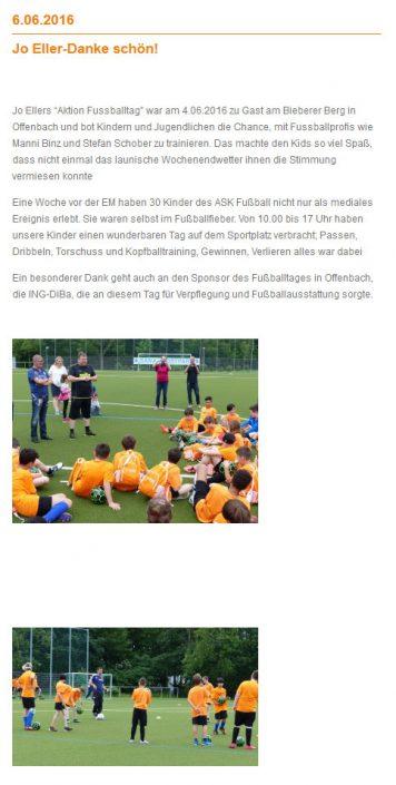 Fussballtage sponsored by ING DiBa - Bild 3 - Datum: 15.07.2015 - Tags: AKTION FUSSBALLTAG e.V.
