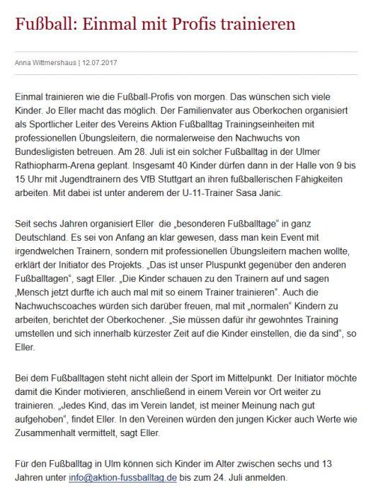 Fussballtage sponsored by Kaercher - Bild 6 - Datum: 07.04.2015 - Tags: AKTION FUSSBALLTAG e.V.